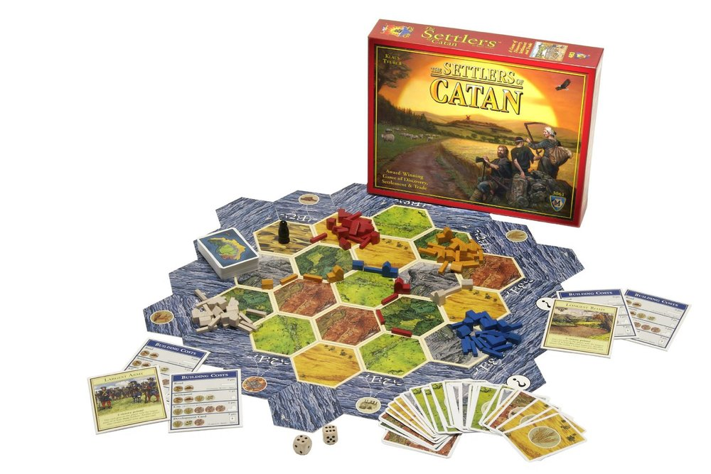 Settlers of Catan, Ages 10+ $42.99
