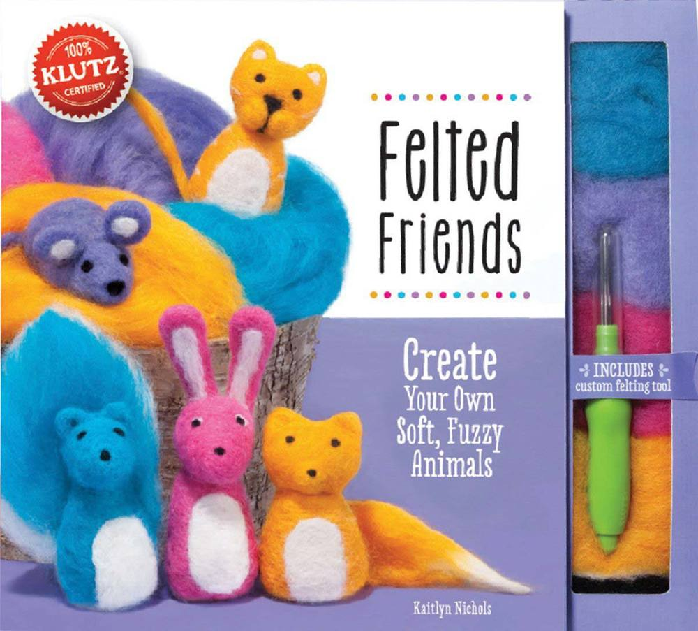 Felted Friends by Klutz, Ages 10+ $19.99