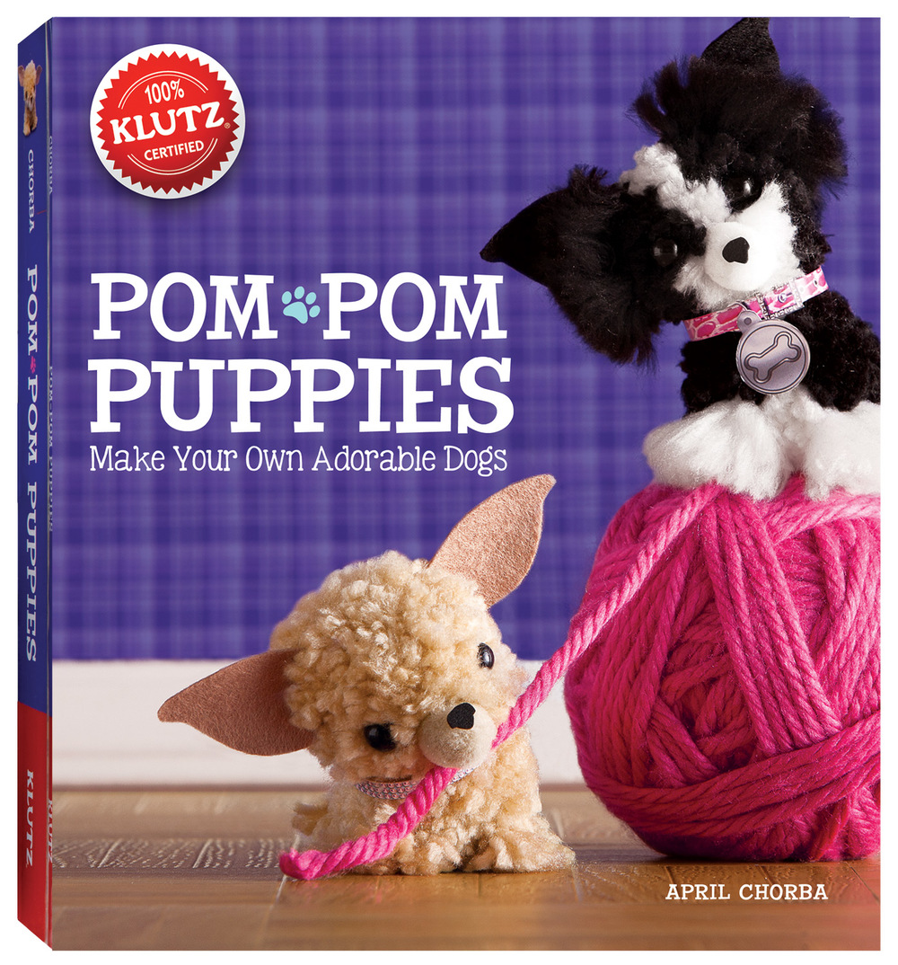 Pom Pom Puppies Kit by Klutz, Ages 8+ $19.99