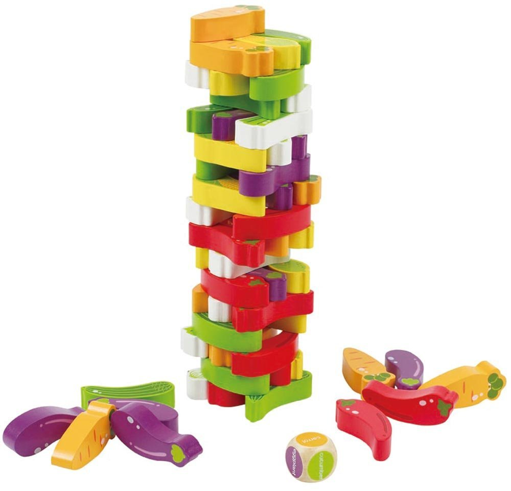 Veggie Stacking Game, Ages 3+ $29.99