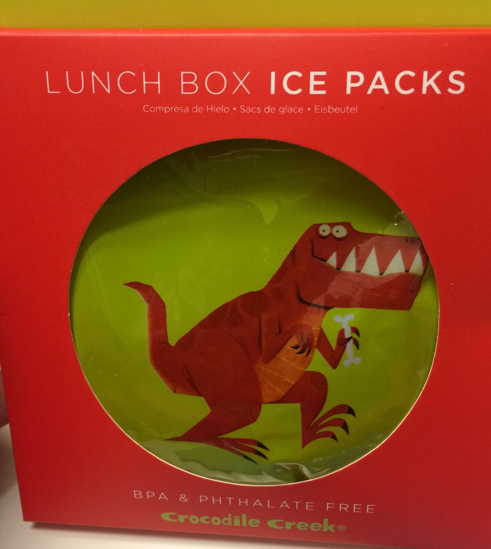 Ice Packs by Crocodile Creek $7.99 for a pack of two