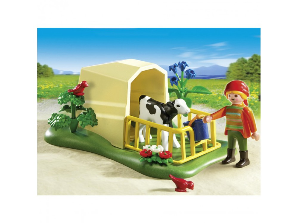 Calf Feeder by Playmobil, Ages 4+  NOW $7.99, was $10.99