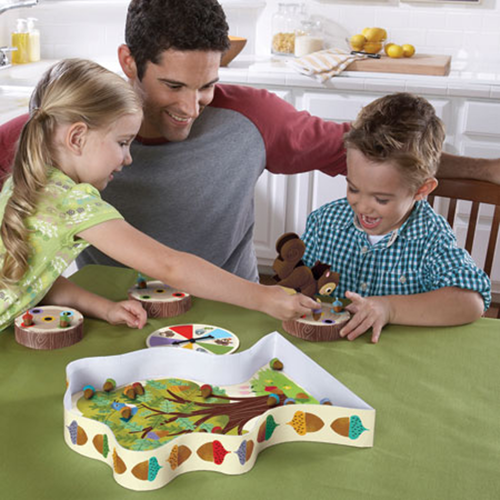 The Sneaky, Snacky Squirrel Game!, Ages 3+, 2-4 players $22.99