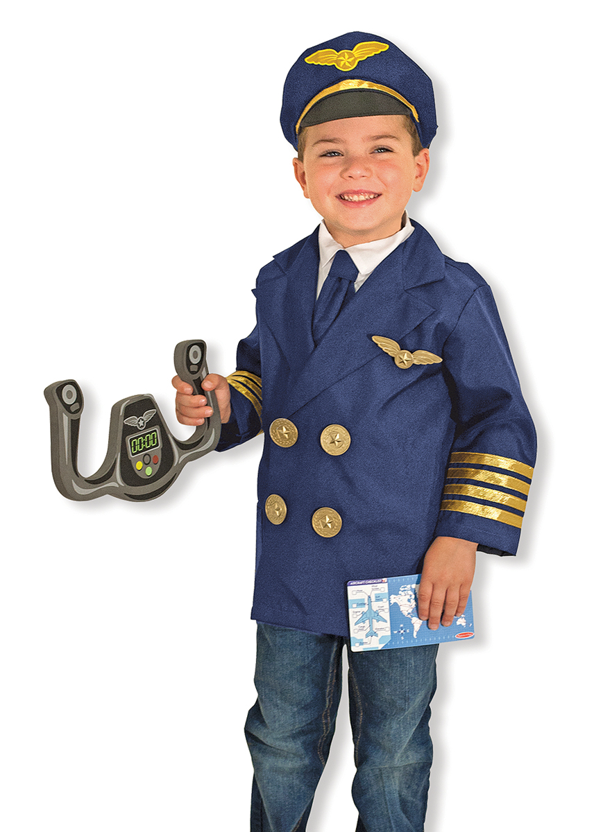Pilot Costume by Melissa & Doug, Ages 3-6 years $29.99