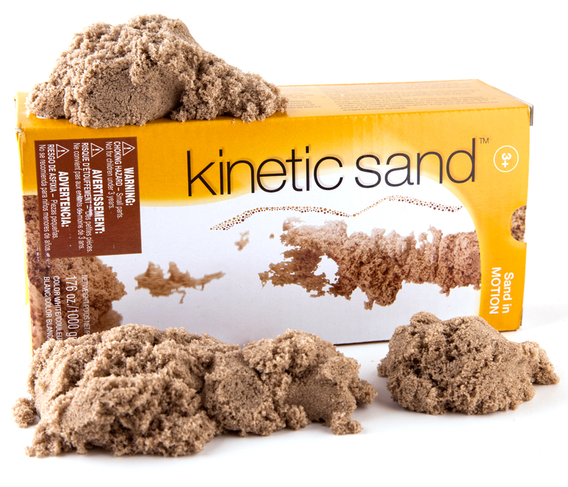 Kinetic Sand, Ages 3+ $17,99