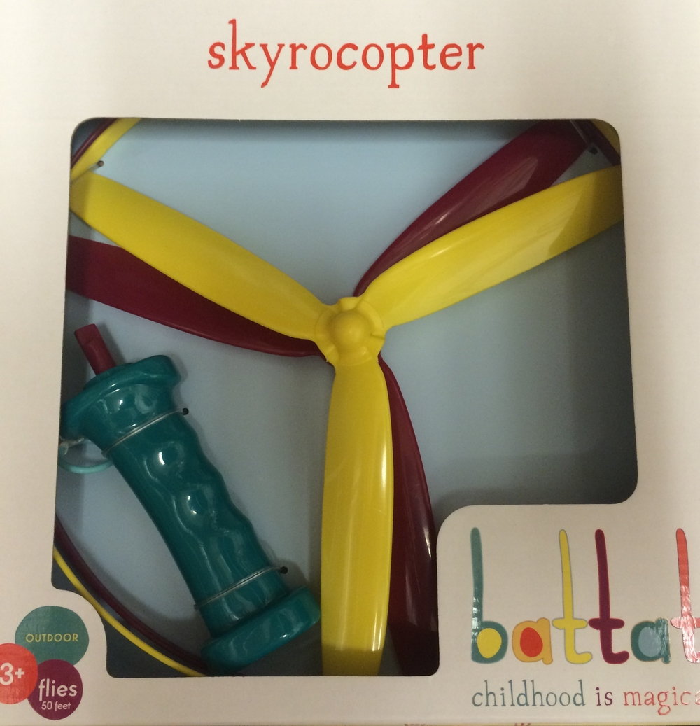 Skyrocopter, Ages 3+ $9.99