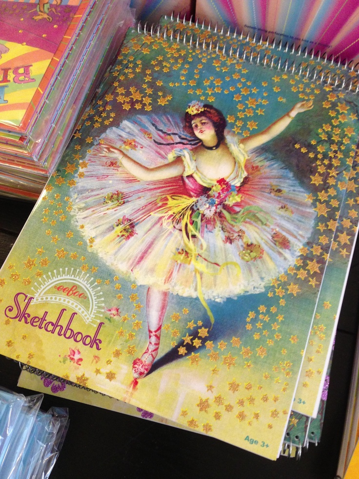 Eeboo Sketchbooks  $5.99