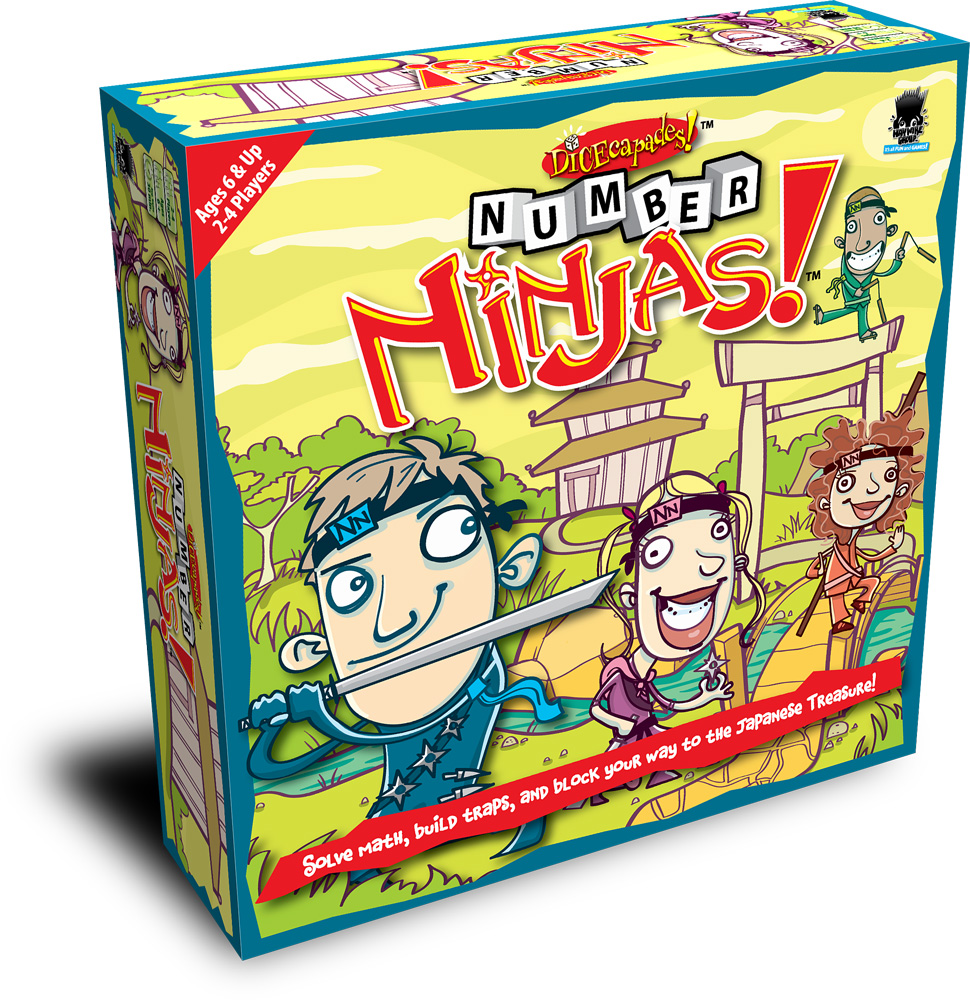 Number Ninjas, Ages 7+  $19.99