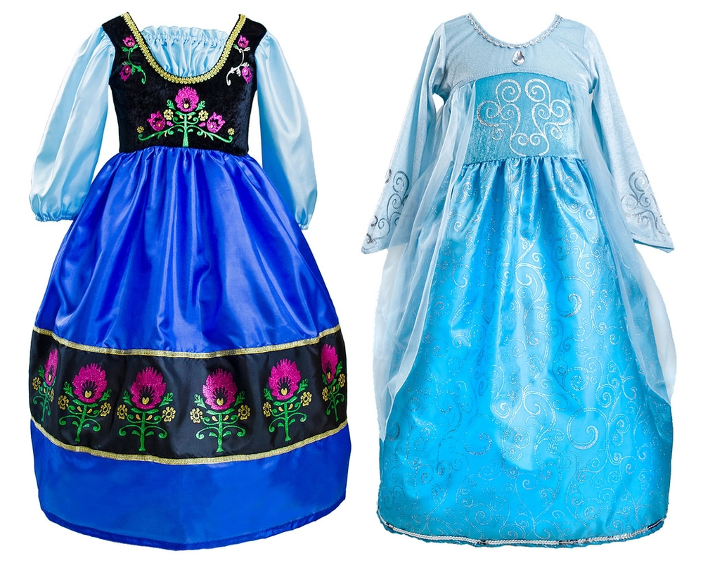Frozen Dresses, Size M/ 3-5 years  $29.99