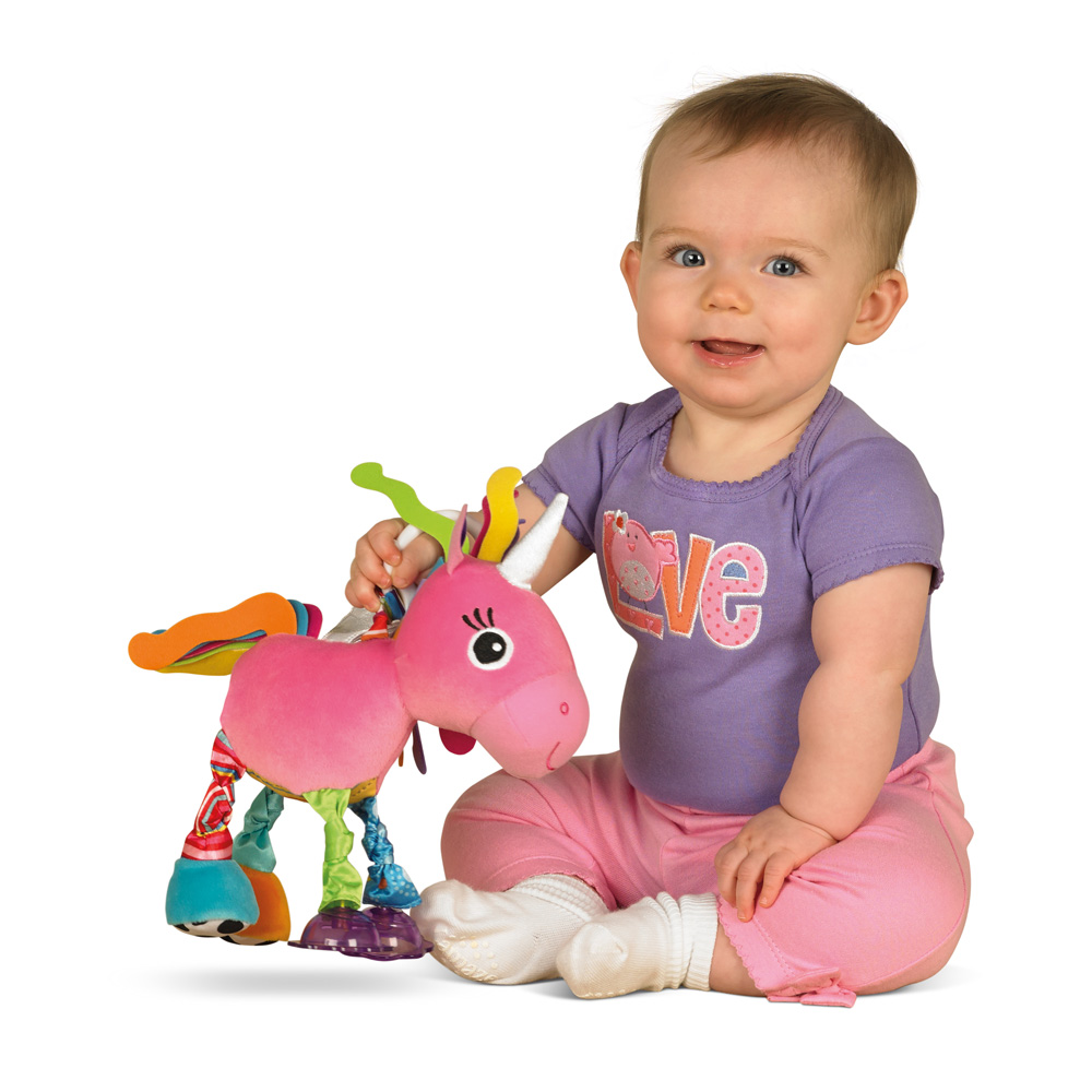 Unicorn Stroller Toy by Lamaze, Ages 0-24 mos. $17.99