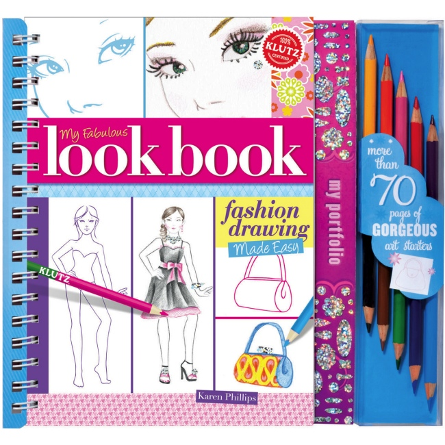 My Fabulous Lookbook by Klutz, Ages 8+  $19.99