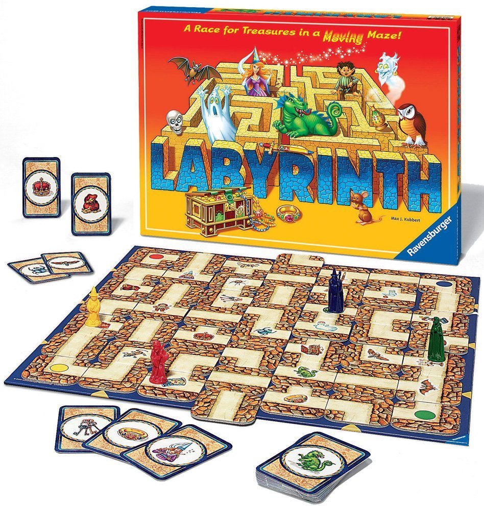 Labyrinth, Ages 7+  $32.99