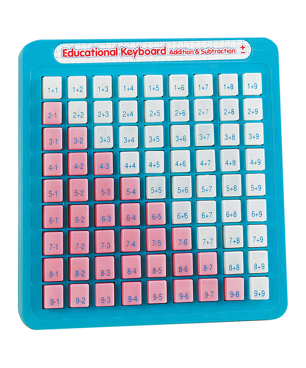 Math Keyboard, available in addition/ subtraction or multiplication/division  $17.99
