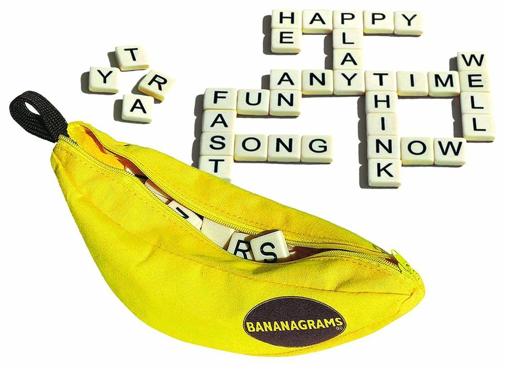 Bananagrams, Ages 7+  $17.99
