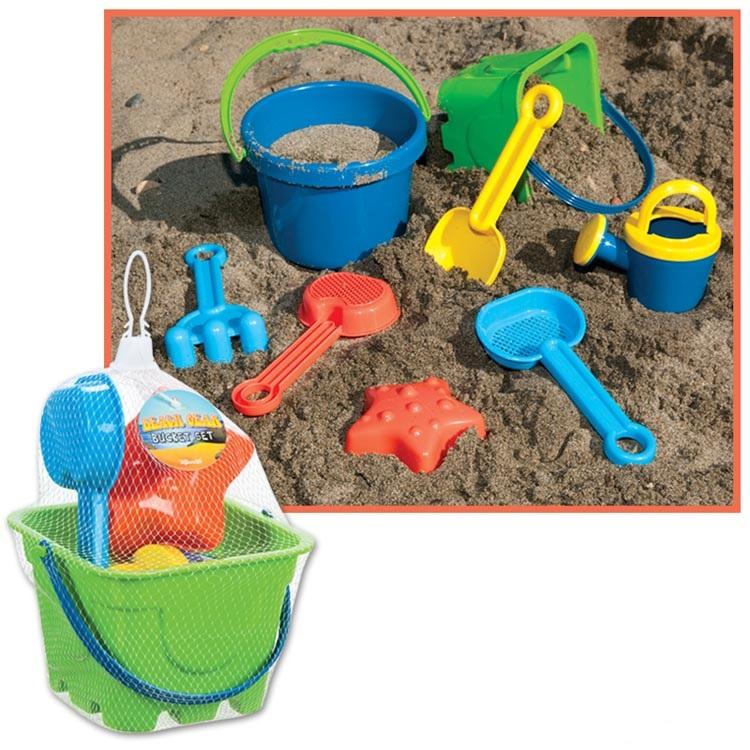 Beach Bucket Sets, SALE Price $2.99 - $4.99
