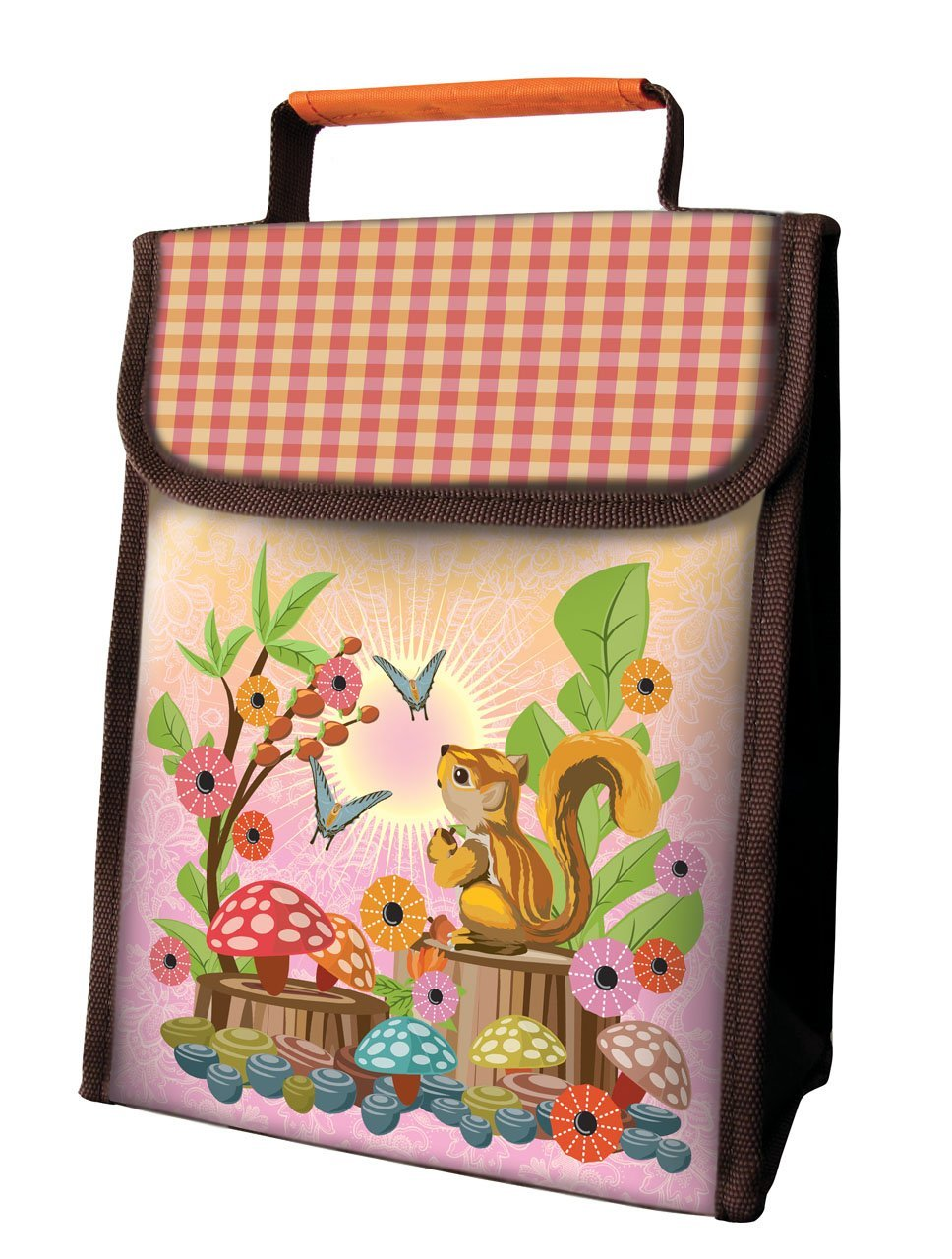 Lunch Sacks, available in Squirrel, Bumblebees, Robots and Rocket Ships $9.99