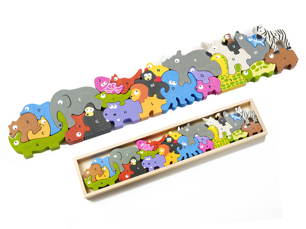Animal Parade Puzzle by Begin Again, Ages 4+ $39.99