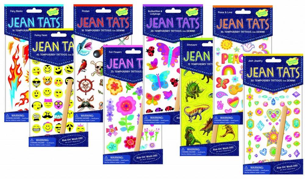Jean Tats $2.99 per pack