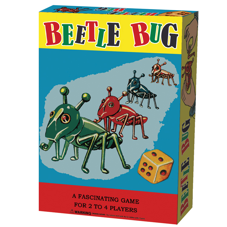 Beetle Bug, Ages 4+, 2-4 players  $9.99