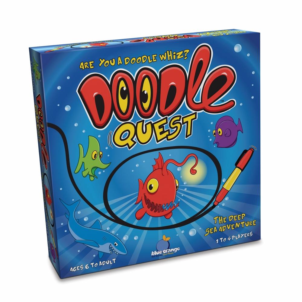 Doodle Quest, Ages 6+, 1-4 players $24.99