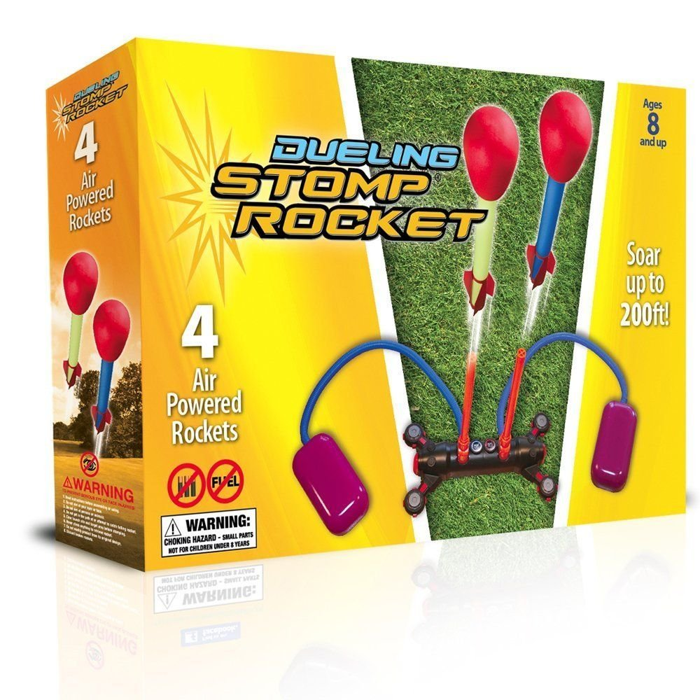 Dueling Stomp Rocket, Ages 8+  $22.99
