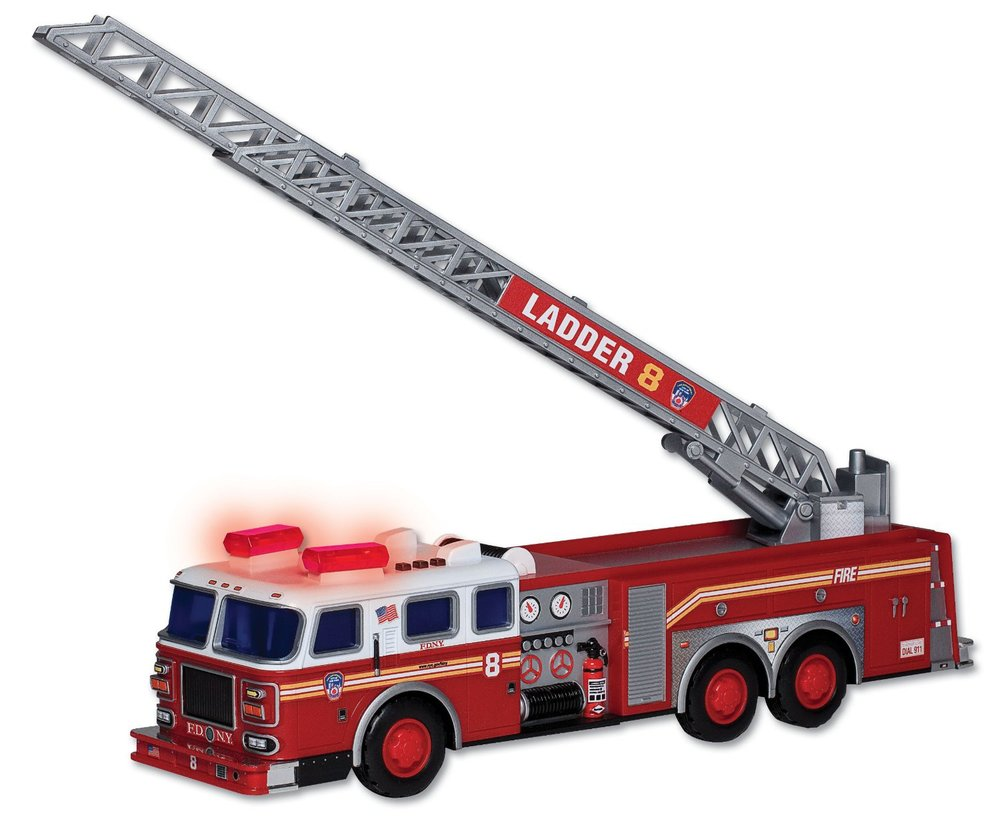 FDNY Ladder Truck with light & sound, Ages 3+ $32.99