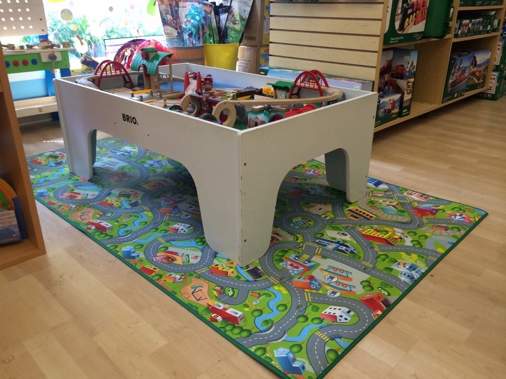 """Play Mat in Happyville, 78"""" x 46"""" $29.99"""