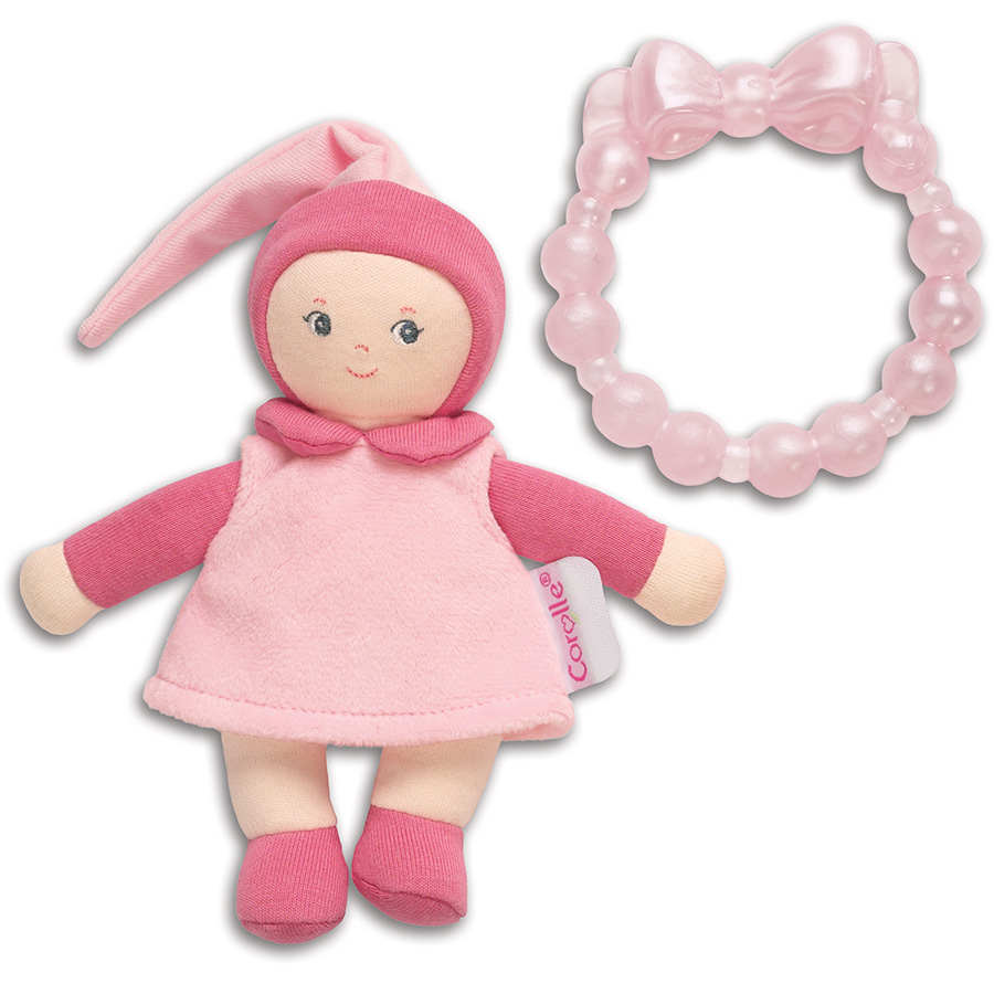Mini Miss & Baby Teether by Corolle, Ages Newborn+  $22.99