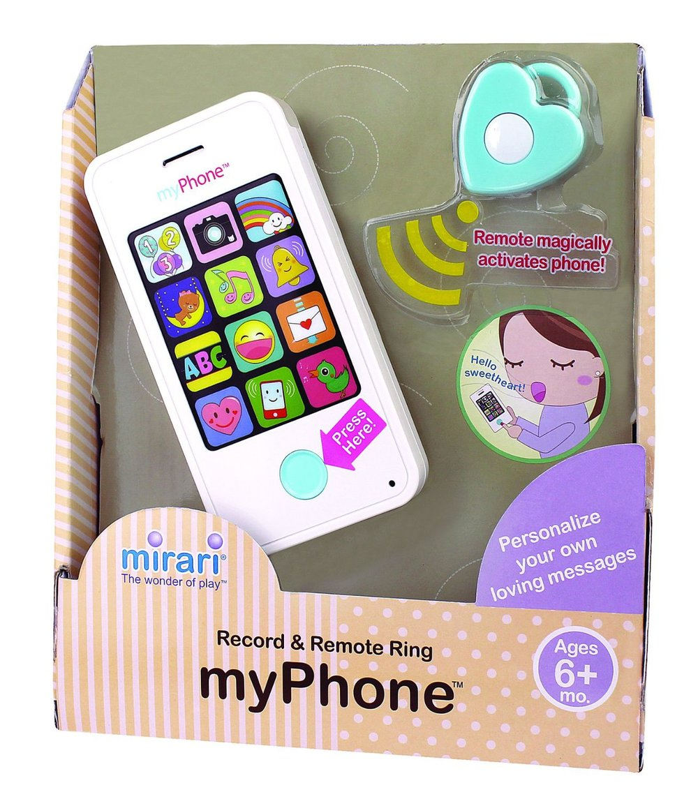 My Phone by Mirari, Ages 6 months+  $19.99