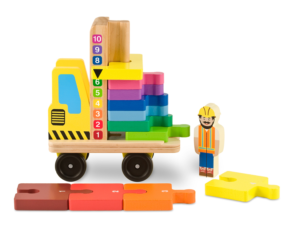 Stack & Count Forklift by Melissa & Doug, Ages 3+ $14.99