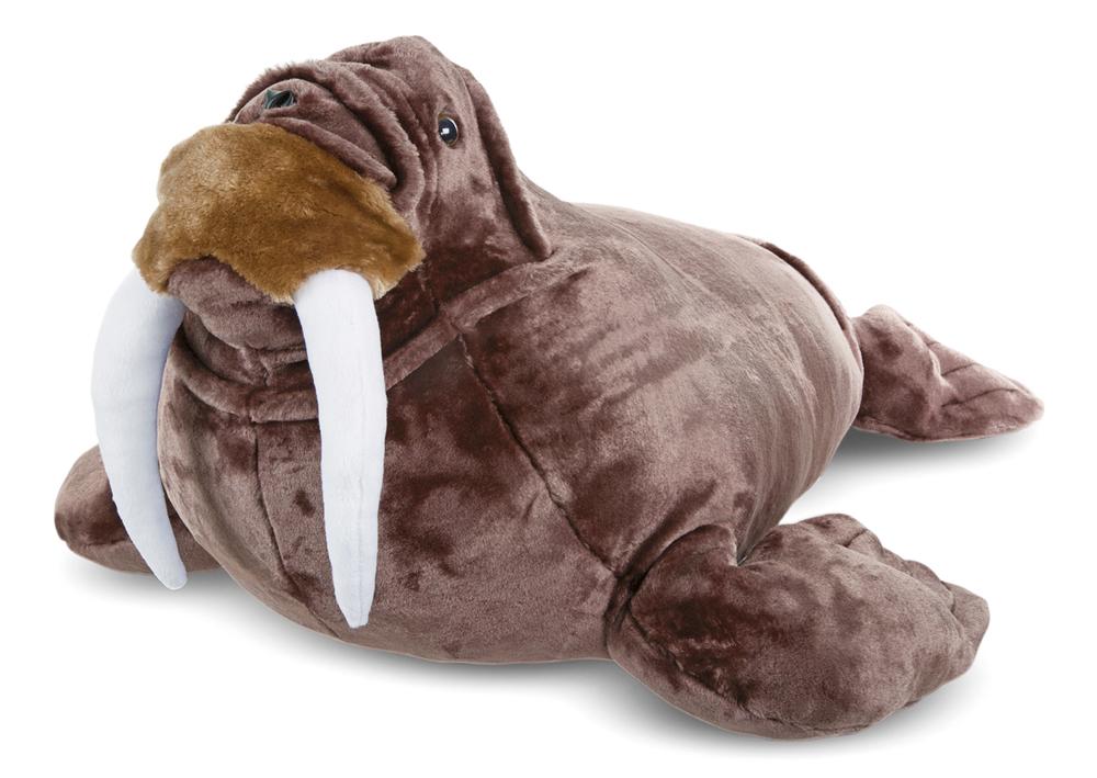 "Walrus by Melissa & Doug, 30"" long! $69.99"