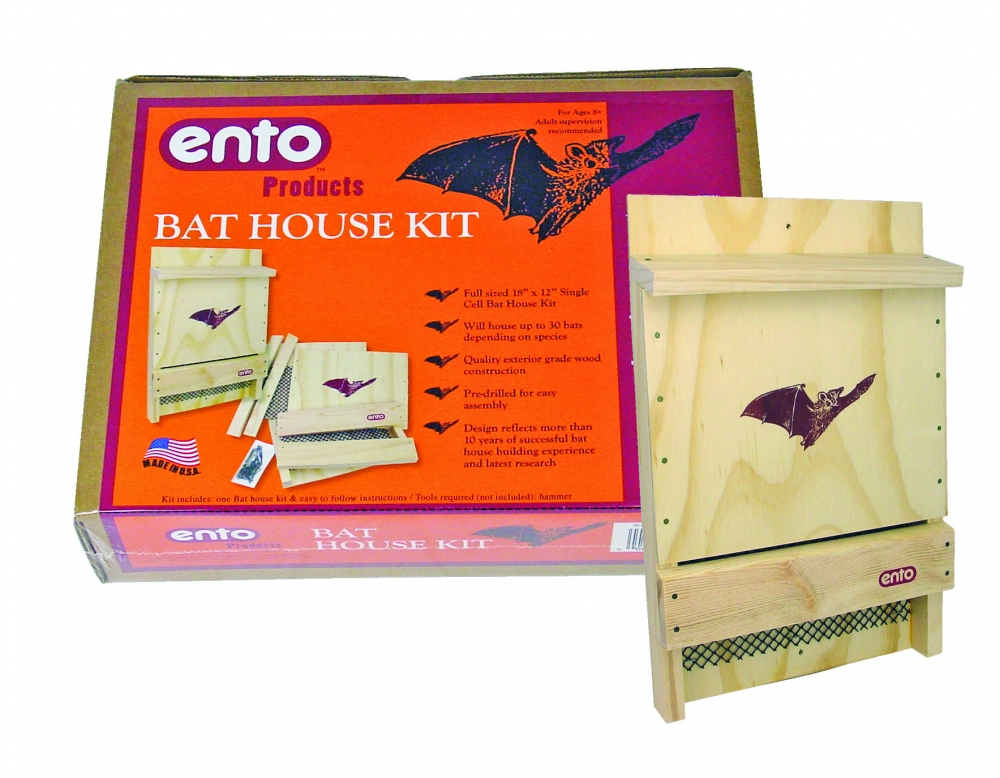 Bat House Kit, Ages 8+  $24.99 (Made in the USA!)