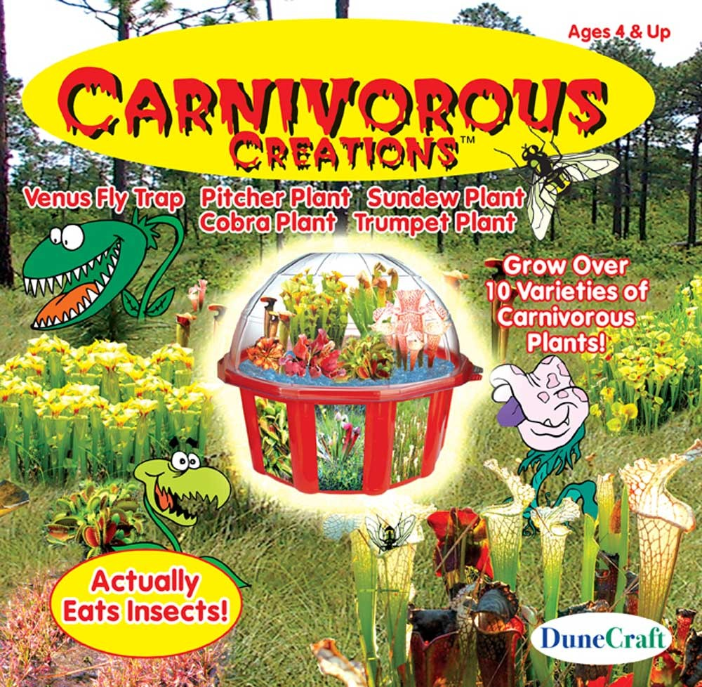Carnivorous Creations, Ages 4+  $24.99