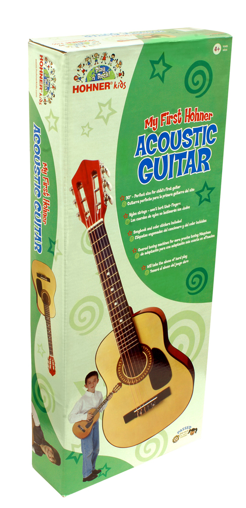 My First Acoustic Guitar by Hohner, Ages 4+  $59.99