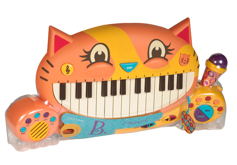 Meowsic Cat Piano, Ages 2+  $54.99