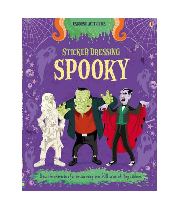 Sticker Dressing Spooky, Ages 3+  $8.99
