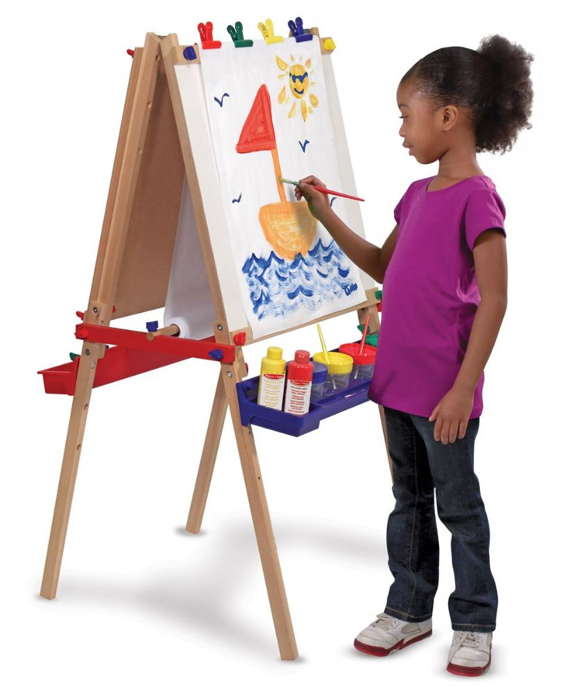 Two-Sided Easel by Melissa & Doug, Ages 3+  sale price thru Oct. 31st $63.99 (regular price $79.99)