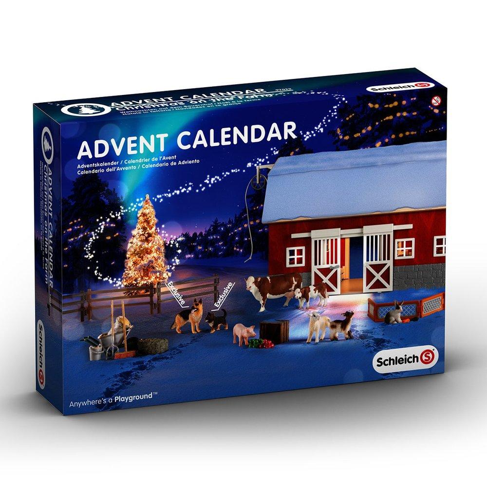 Schleich Advent Calendar, Ages 3+ $49.99