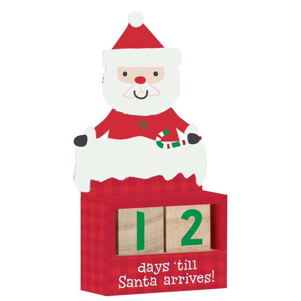 Here Comes Santa Claus! Countdown Blocks $14.99