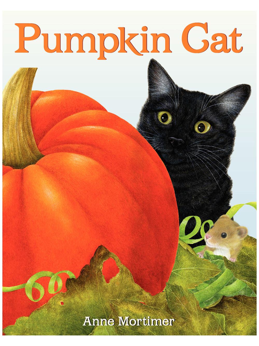 Pumpkin Catby Anne Mortimer
