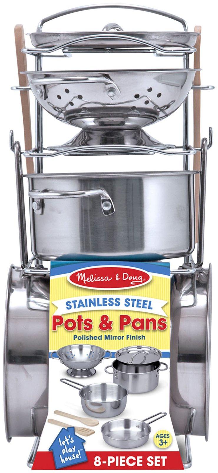 Pots & Pans Set by Melissa & Doug, Ages 3+ sale price $23.99 (regular price $29.99)