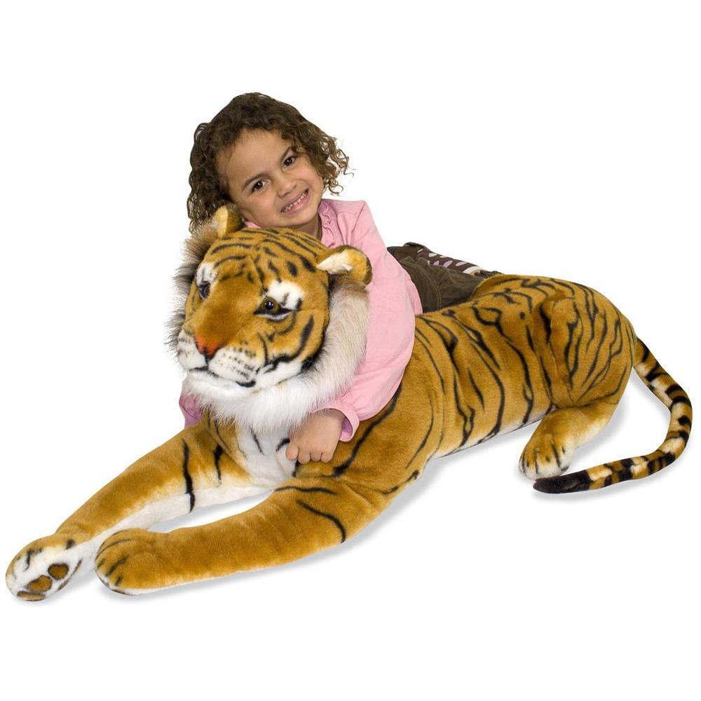 Giant Stuffed Animal Tiger, sale price $63.99, regular price $79.99