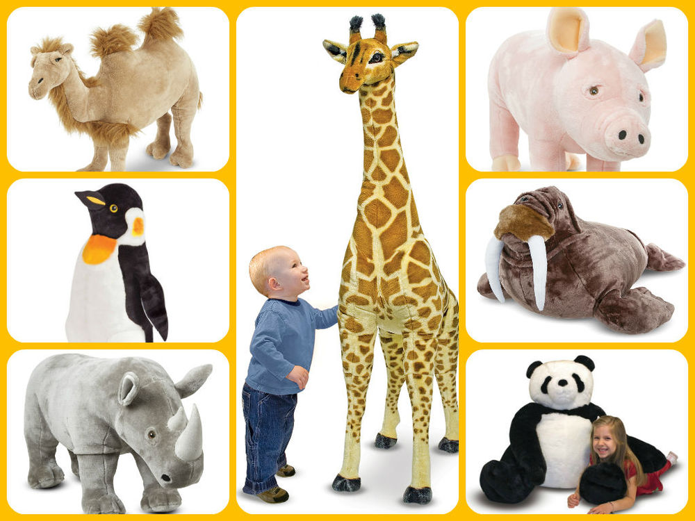 Melissa & Doug Giant Stuffed Animals sale price thru Oct. 31st $19.99-$79.99 (regular price $24.99-$99.99)