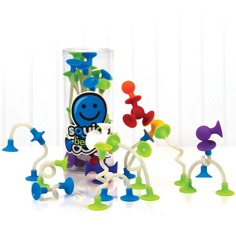 Squigz Benders, Ages 3+  $24.99, also available Squigz Starter Set, Ages 3+  $24.99