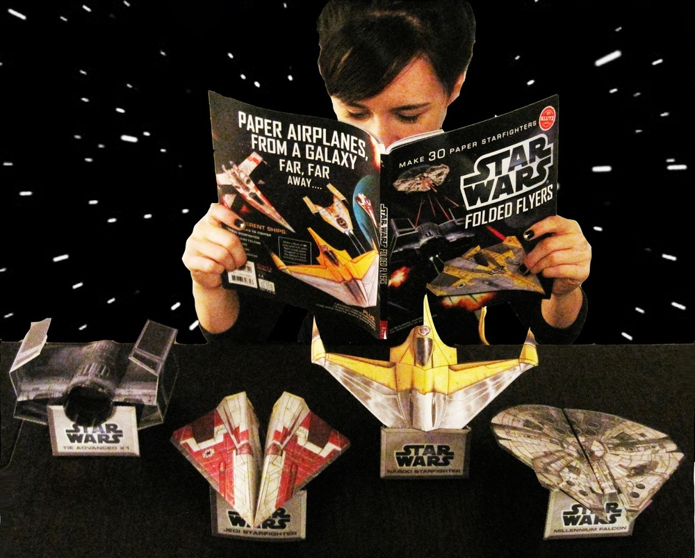 Star Wars Folded Flyers by Klutz, Ages 8+  $19.95