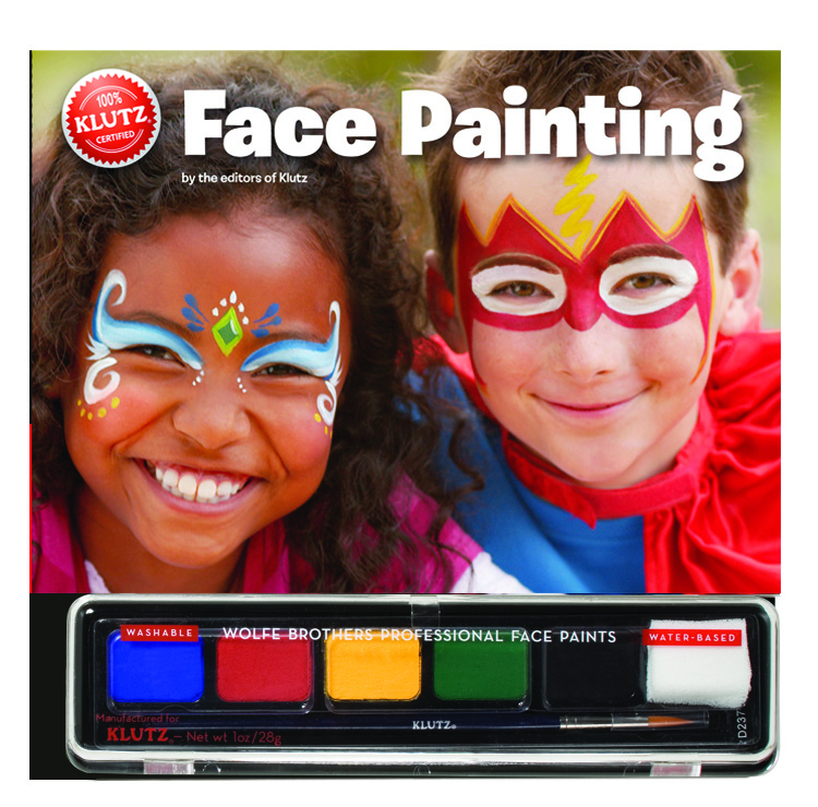 Face Painting by Klutz, paint, ideas and instructions included $24.95