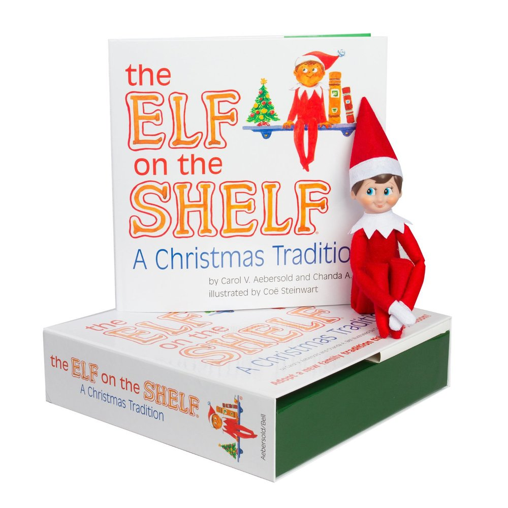 Elf on the Shelf $29.99, elf-sized skirts and bomber jackets also available, $7.99-$9.99