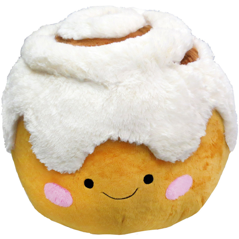 Squishable, ages 3+ $42.99 Nom nom nom. This cinnamon roll is cute and cuddly and oh so sweet (without any added sugar!)