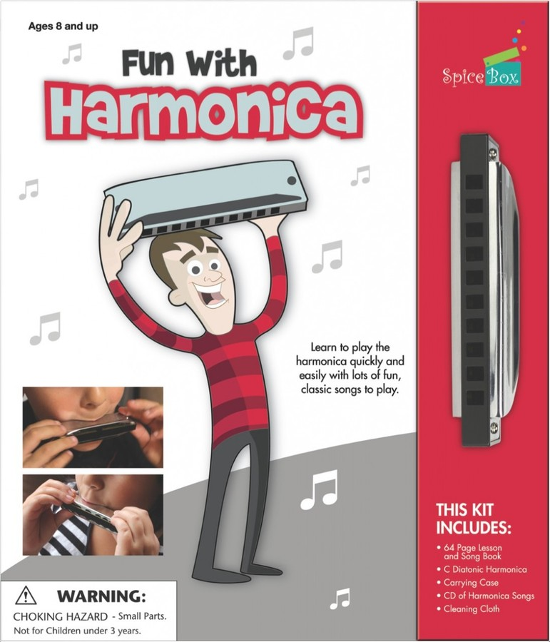 Fun with Harmonica, Ages 8+ $19.99