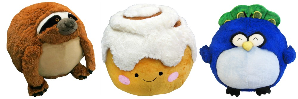 Squishables, available in regular and mini sizes  $19.99 - $49.99